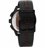 MASERATI  Traguardo R8871612023 - herenhorloge - chronograaf - zwart kleurig - 45mm