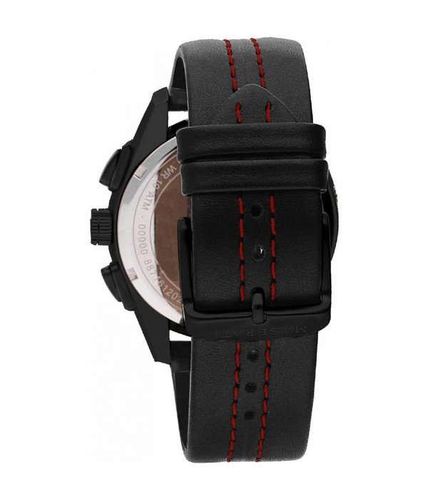 MASERATI  Traguardo R8871612023 - Herrenuhr - Chronograph - schwarz - 45mm