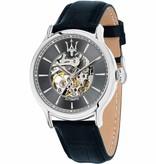 MASERATI  Epoca R8821118002 - watch - automatic - leather - blue colored - 45mm