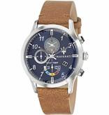 MASERATI  Ricordo Yacht Timer R8871625005 - horloge - zilverkleurig - 42mm