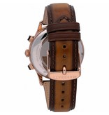 MASERATI  R8871633002 Montre homme RIcordo - chronographe - cuir - couleur rosé - 42mm