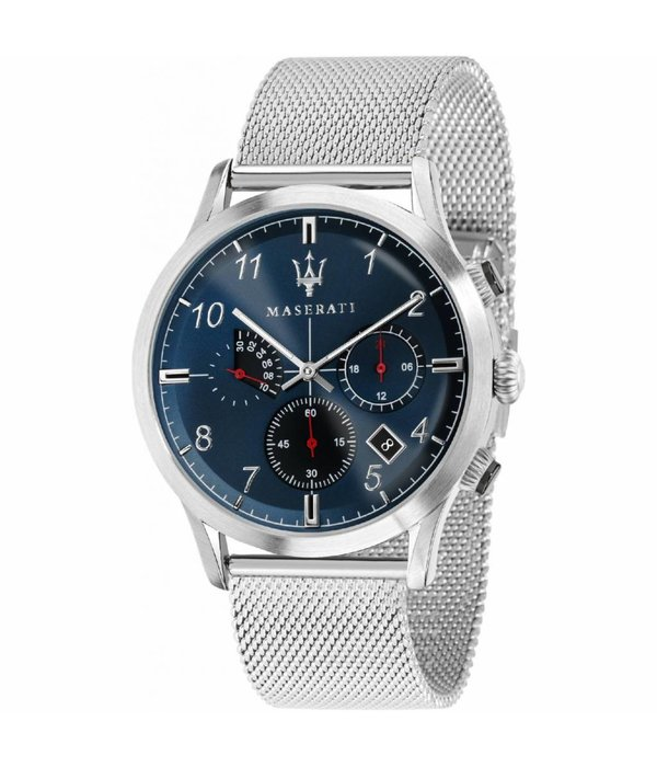 MASERATI  R8873625003 Ricordo - watch - chronograph - silver - 42mm