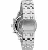 MASERATI  horloge Maserati  GT R8873134002 - chronograaf - zilver kleurig - blauwe wijzerplaat - 44mm