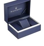 MASERATI  watch Maserati GT R8873134002 - chronograph - silver colored - blue dial - 44mm