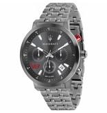 MASERATI  montre Granturismo R8873134001 - chronographe - couleur grise - 44mm