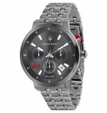 MASERATI  watch Granturismo R8873134001 - chronograph - gray colored - 44mm