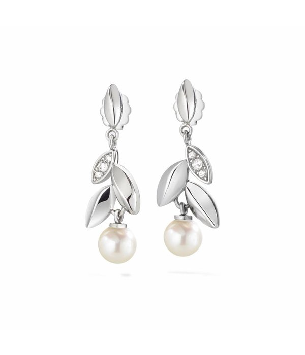 MORELLATO Gioia Saer23 - earrings - silver colored - pearls 6 mm