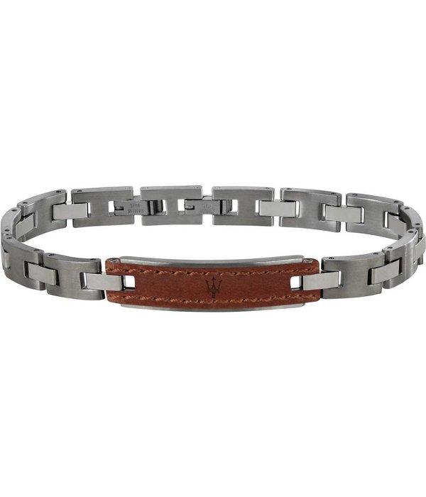 MASERATI  JM218AMD01 - Armband - Leder - Silber - 215mm