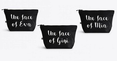 'The Face of' Make Up Bag
