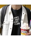 Anti Diet Diet Club T-Shirt for Men