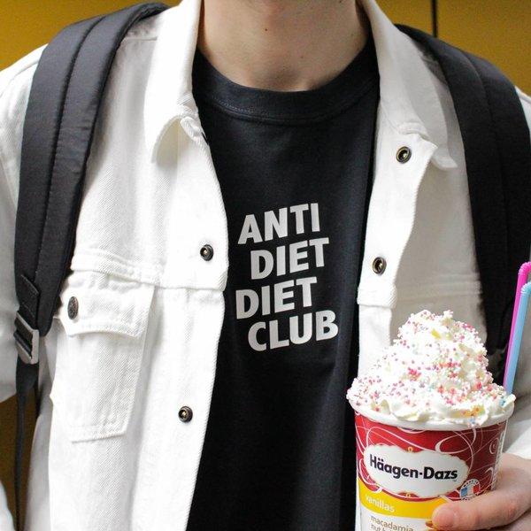 Anti Diet Diet Club Herren T-Shirt