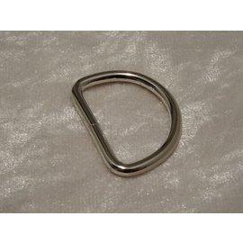 D-Ring aus Stahl, 30 mm