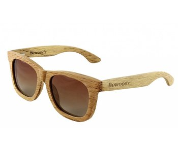 Bewoodz ® Holz Sonnenbrille 'Santa Rosa'