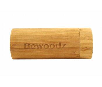 Bewoodz ® Brillenetui aus Holz Round Case