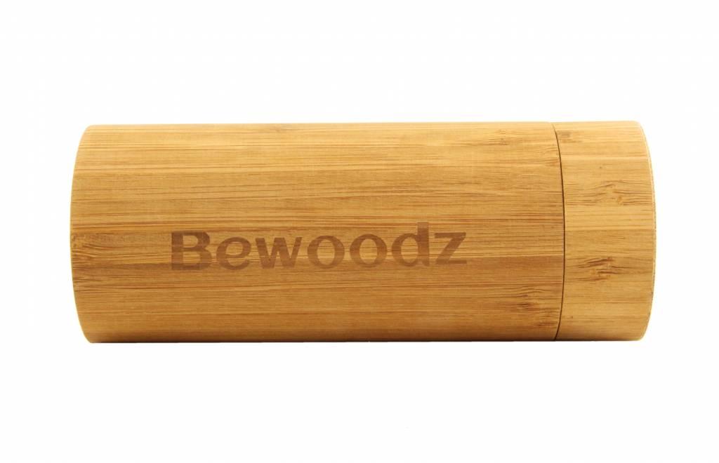 Bewoodz Brillenetui Aus Holz Rund