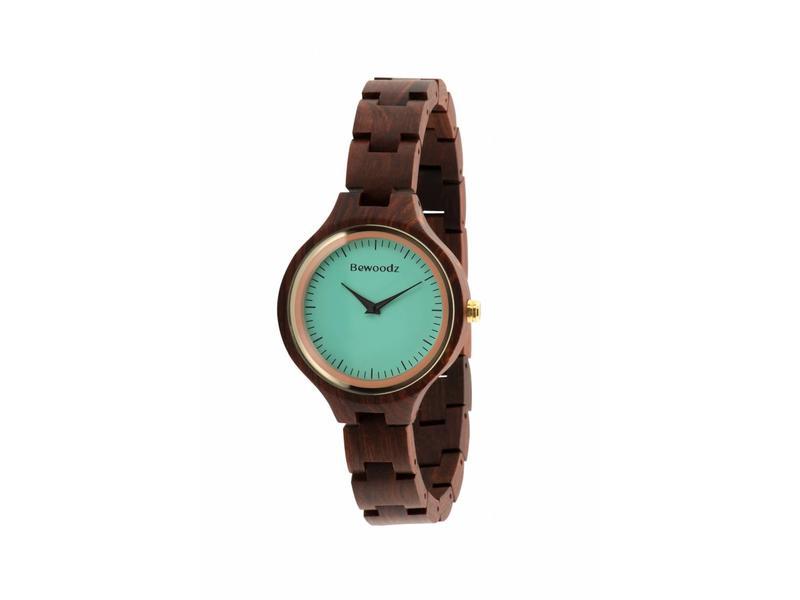 holzuhr damen holz uhr armbanduhr aus holz damen. Black Bedroom Furniture Sets. Home Design Ideas