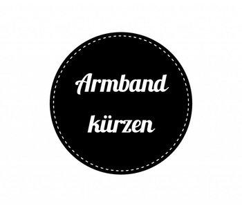Holzuhr Armband kürzen Service