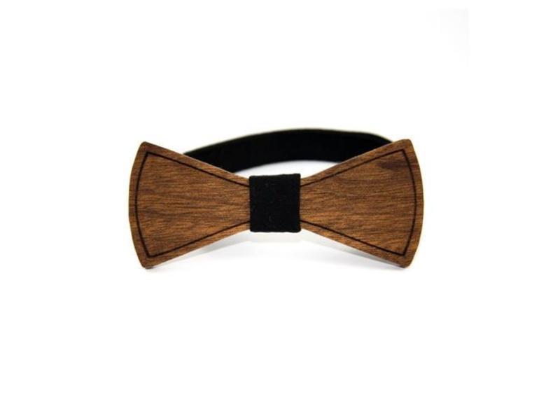 Bewoodz Holzfliege Holzfliege   Holz-Fliege in minimalistischem Design