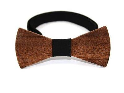 Bewoodz Holzfliege Herren | Holz-Fliege für Hochzeit