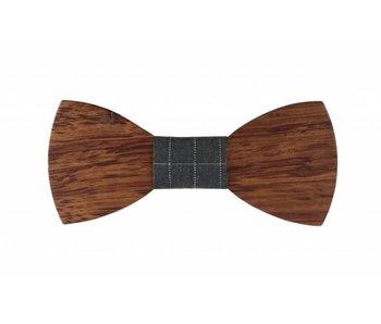 Bewoodz Holzfliege - Fliege aus Holz 'Oswald'