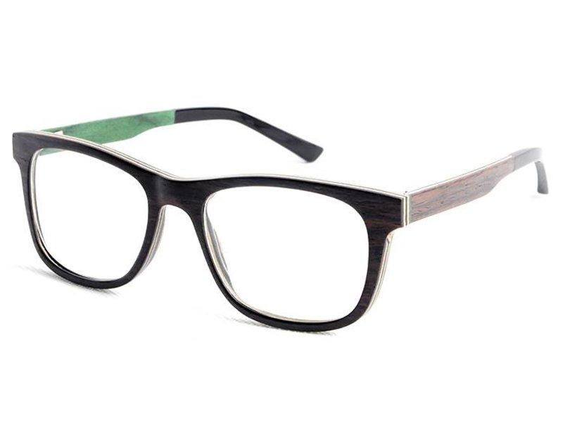 Bewoodz ® Holzbrille 'Stockholm'
