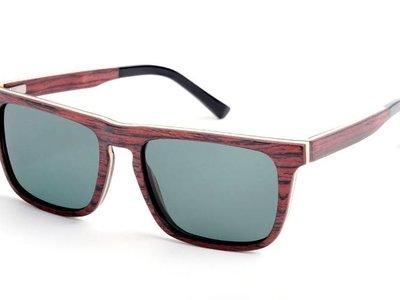 Bewoodz ® Holz Sonnenbrille 'Geneva'