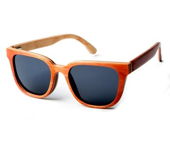 Bewoodz ® Holz Sonnenbrille 'San Remo'