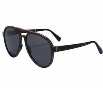 Bewoodz ® Holz Sonnenbrille 'Cork'