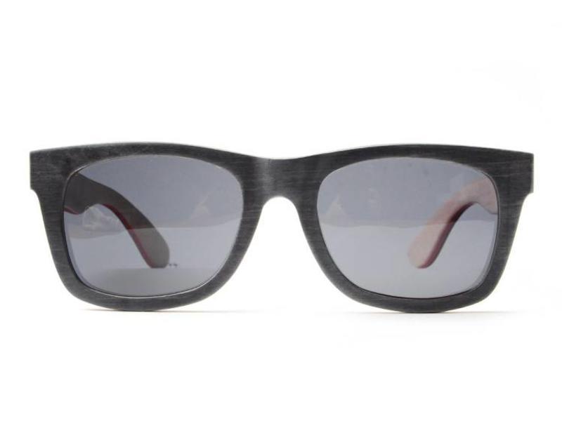 Bewoodz ® Holz Sonnenbrille Skater | Skateboard Stil 'Vancouver'