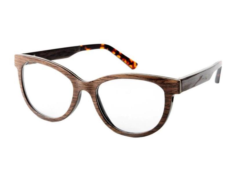 Bewoodz ® Damen Holzbrille 'Lissabon'