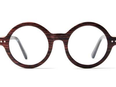 Bewoodz ® Holzbrille 'Kristiansund'