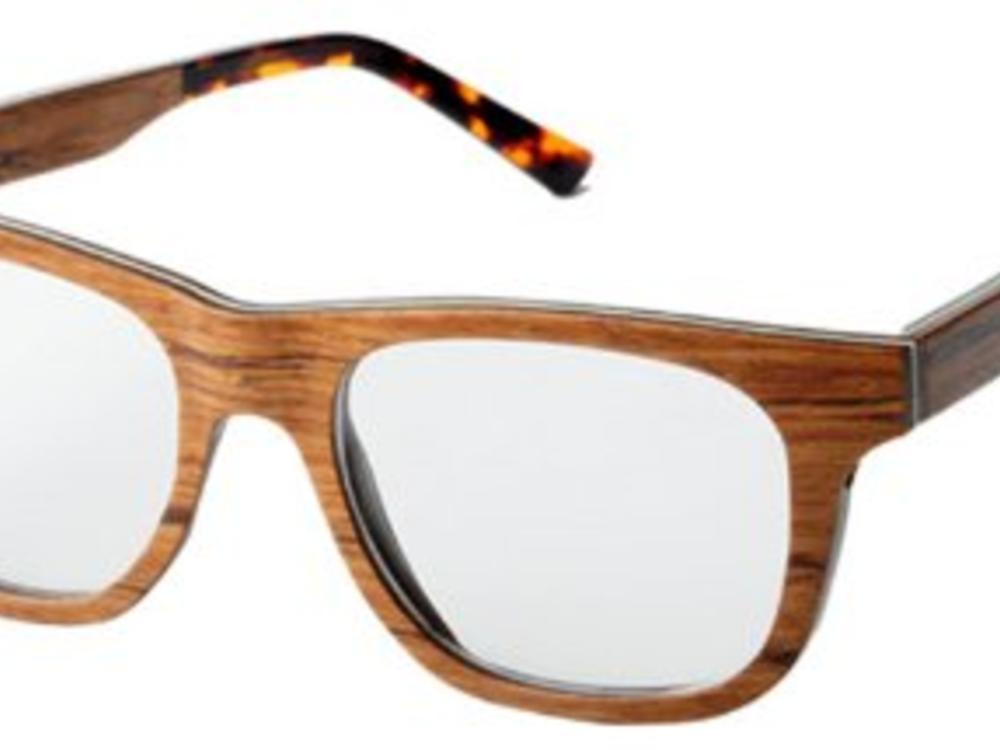 Bewoodz ® Holzbrille 'Mijas'