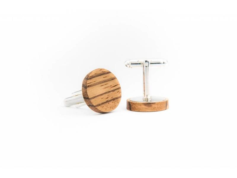 Bewoodz Manschettenknöpfe aus Holz 'Gulliver'