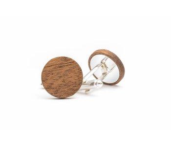 Bewoodz Manschettenknöpfe aus Holz 'Magnus'