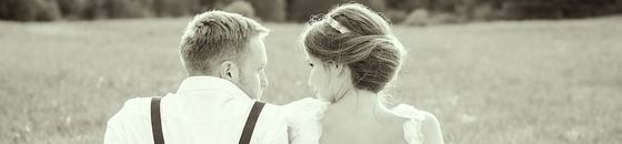 Holzfliege Hochzeit