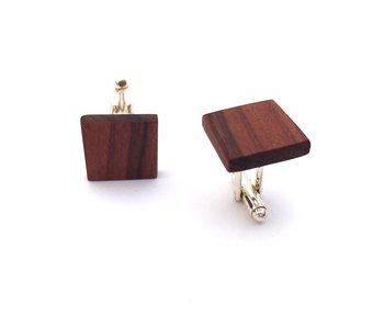 Bewoodz Manschettenknöpfe aus Holz 'Alberto'