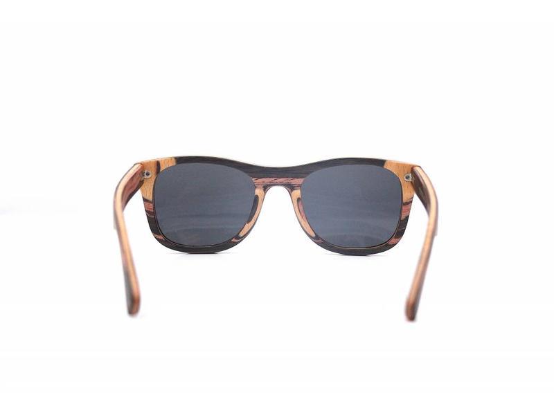 Bewoodz ® Holz Sonnenbrille 'Sydney Stripes'