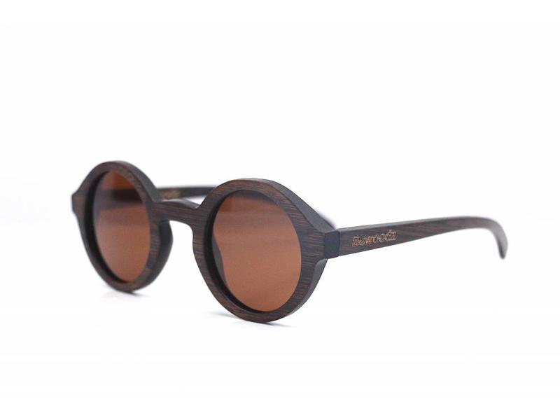 Bewoodz ® Holz Sonnenbrille 'Roma'