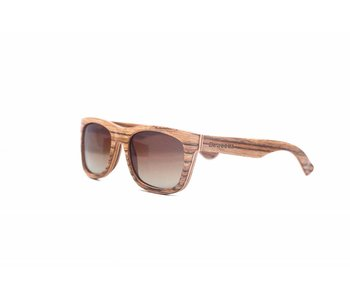 Bewoodz ® Holz Sonnenbrille 'Serengeti'