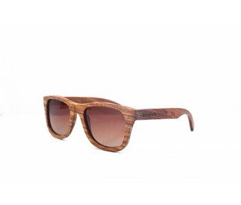 Bewoodz ® Holz Sonnenbrille 'Madrid'
