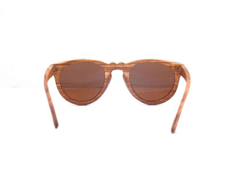 Bewoodz ® Vintage Holz Sonnenbrille 'Monaco'