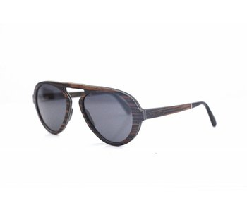 Bewoodz Holz Sonnenbrille 'Wyoming'