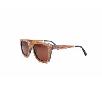 Bewoodz ® Holz Sonnenbrille 'Salou'
