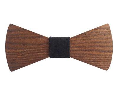 Bewoodz Holzfliege | Holz-Fliege - Natural Design - Esche
