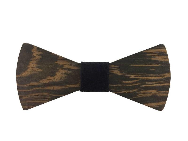 Bewoodz Holzfliege schwarz - Holz Fliege - Holzfliegen