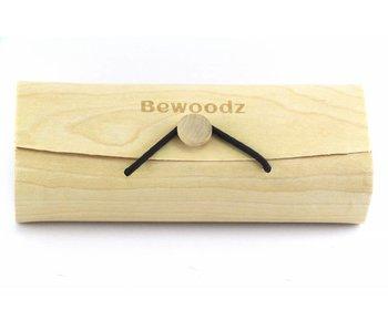 Bewoodz ® Brillenetui aus Birkenholz