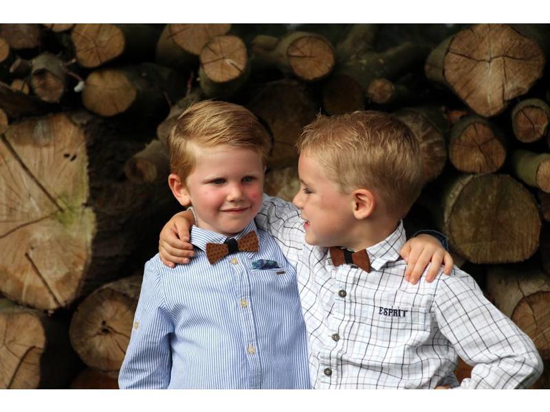 Bewoodz Holzfliege Kinder - Kleine Anker
