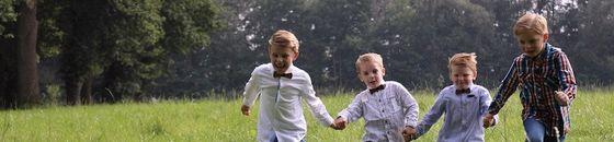 Kinder Holzfliegen