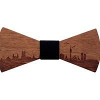 Holzfliege München - Holzfliegen mit Skyline