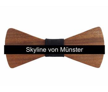 Holzfliege Herren Skyline Münster